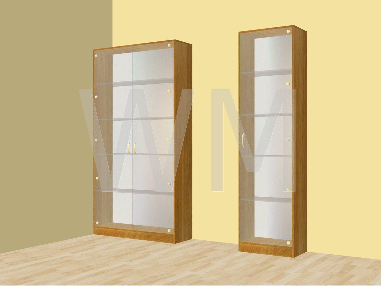 Шкафы для коллекционных фигурок.